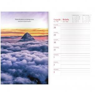 """Kalendorius ir darbo knyga """"Visokie reikalai"""" (Knyga su defektais viršelyje)"""