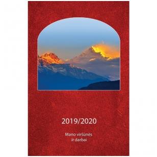 Mano viršūnės ir darbai. Darbo knyga 2019/2020