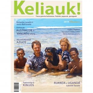 Žurnalas KELIAUK! Pavasaris 2019