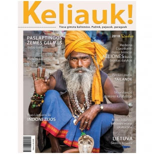 Žurnalas KELIAUK! Ruduo 2018