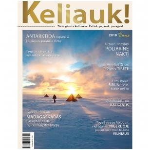 Žurnalas KELIAUK! Žiema 2018