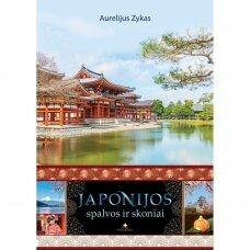 Japonijos spalvos ir skoniai (knyga su nedideliu defektu)