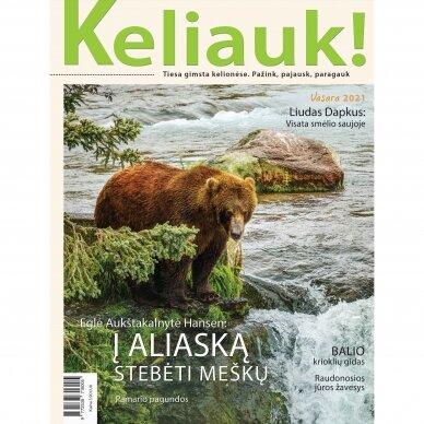 KELIAUK žurnalas. 2021 m. vasara