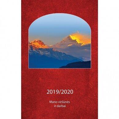 Mano viršūnės ir darbai. Darbo knyga 2019/2020 2