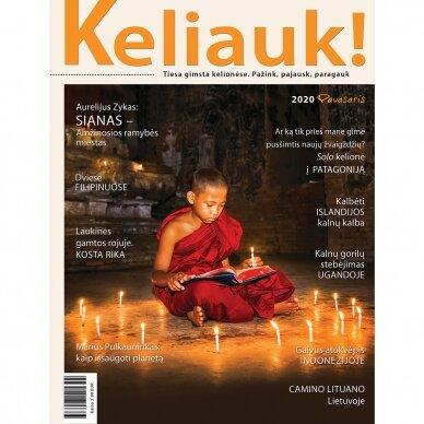 Žurnalas KELIAUK! Pavasario numeris 2020