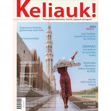 Žurnalas KELIAUK! Vasaros numeris 2020